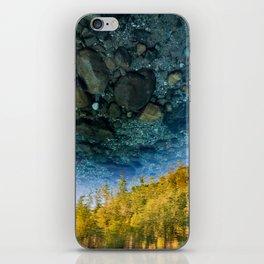 Upside-down World iPhone Skin