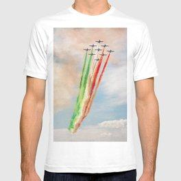 Frecce Tricolori in action T-shirt