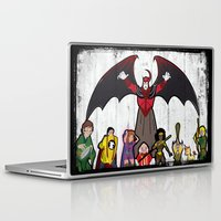dungeons and dragons Laptop & iPad Skins featuring DUNGEONS & DRAGONS by Zorio