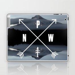 PNW Pacific Northwest Compass - Mt Hood Adventure Laptop & iPad Skin