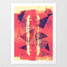 Summers Ago Art Print