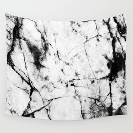 Marble Concrete Stone Texture Pattern Effect Dark Grain Wall Tapestry