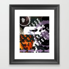 Obstruction  Framed Art Print