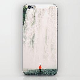 Iceland - Skógafoss (Leica M3 & Kodak film) iPhone Skin