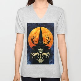 Autumn Conjurer Unisex V-Neck