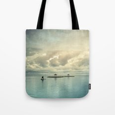 the art of silence Tote Bag