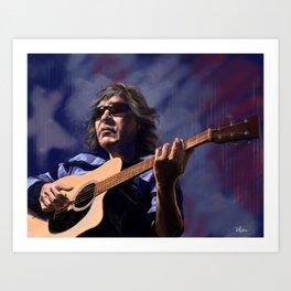 Jose Feliciano - American Guitarist Art Print