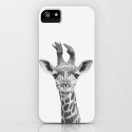 Baby Giraffe iPhone Case
