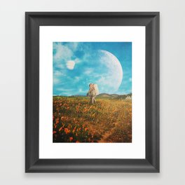 Landloping Framed Art Print