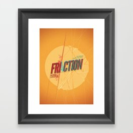 Fri/actionn Framed Art Print