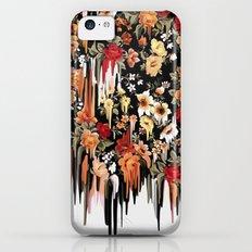 Free Falling, melting floral pattern iPhone 5c Slim Case