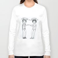danisnotonfire Long Sleeve T-shirts featuring Dan and Phil 2 by Sanni Salmela