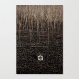 somewhere hidden away Canvas Print
