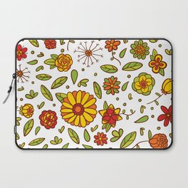Spring Flitty Flowers Laptop Sleeve