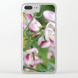 Botanical at Eilean Donan Clear iPhone Case