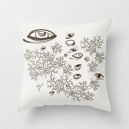 In the Barrens Throw Pillow