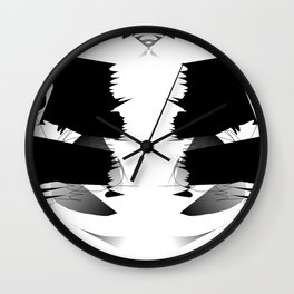 Altered and degraded Wall Clock