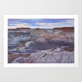 Nature Painted Desert Art Print