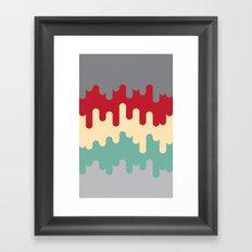 50's Diner Framed Art Print