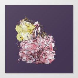 Flowergirl Canvas Print