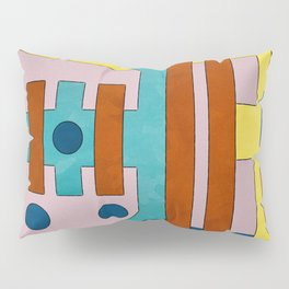 Raygun Capacitor - Abstract Composition Pillow Sham