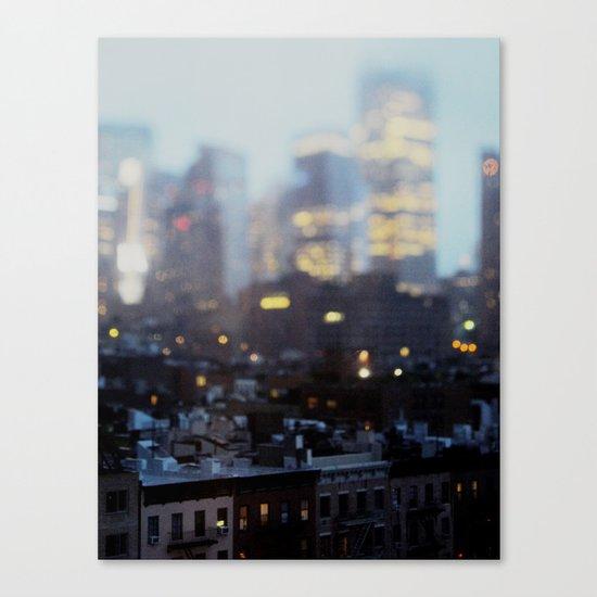 Big City Little Stories. Canvas Print