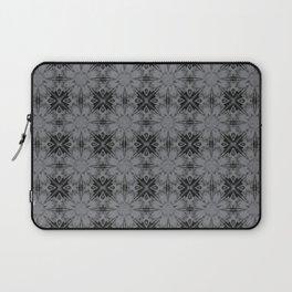 Sharkskin Floral Geometric Laptop Sleeve