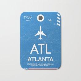 Hartsfield–Jackson Atlanta International Airport Bath Mat