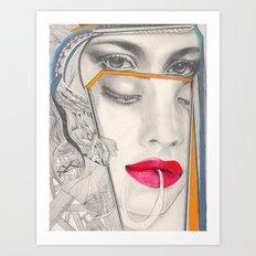 I Believe in Beauty 3 Art Print