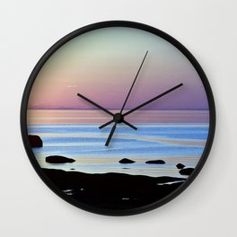Swirling Currents Wall Clock