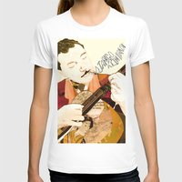 django T-shirts featuring Django Reinhardt by Daniella Birtley