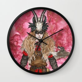 The trickster God Wall Clock