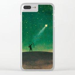 Star Archer Clear iPhone Case