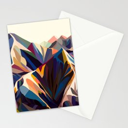 Mountains original Stationery Cards