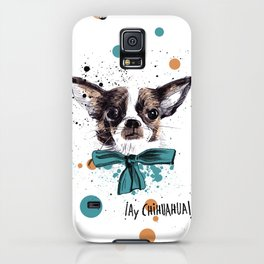 Chic Chihuahua dog iPhone Case