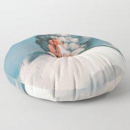 Eruptions 2 Floor Pillow