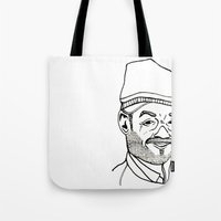 moroccan Tote Bags featuring Moroccan by nicolaporter