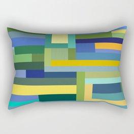 Forest Green Rectangular Pillow
