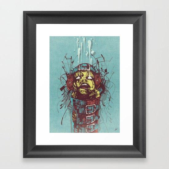 Propaganda II. Framed Art Print