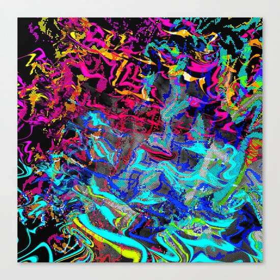 don't try - just make! Canvas Print