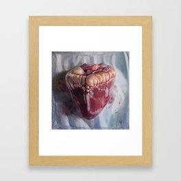 Handkerchief Framed Art Print