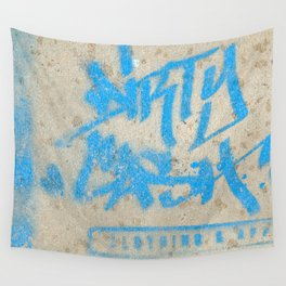 DIRTY CASH - TAGGING STREETART MIAMI by Jay Hops Wall Tapestry