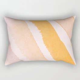Soft Brush Color Rectangular Pillow