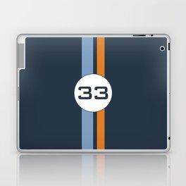 racing stripe .. #33 Laptop & iPad Skin