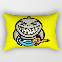Spike the Shark Rectangular Pillow