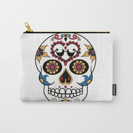 Mexican Sugar Skull Carry-All Pouch