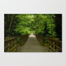 Railroad Bridge Park, Sequim, Washington Canvas Print