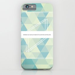 He's more myself than I am. iPhone Case
