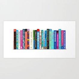 Bookstack No. 30 Art Print