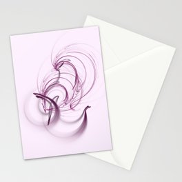 Lavender Swirls Stationery Cards